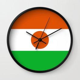 Flag: Niger Wall Clock