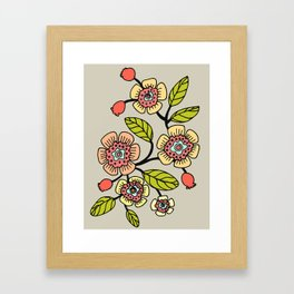 joli printemps Framed Art Print