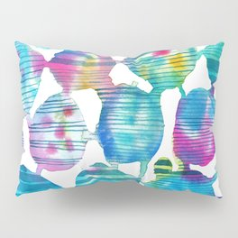 Freestyle watercolor Pillow Sham