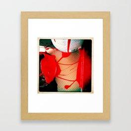 work paint Framed Art Print