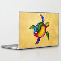 turtle Laptop & iPad Skins featuring Turtle by Aleksandra Mikolajczak