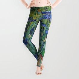 Irises, Vincent Van Gogh Leggings