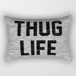 Thug Life - light Rectangular Pillow