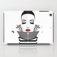 striped iPad Cases featuring striped by Yordanka Poleganova