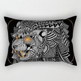 Barbarian Lion Rectangular Pillow