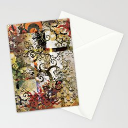 Abstract Tree of Life Stationery Cards