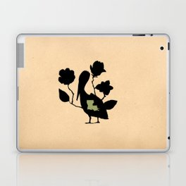 Louisiana - State Papercut Print Laptop & iPad Skin