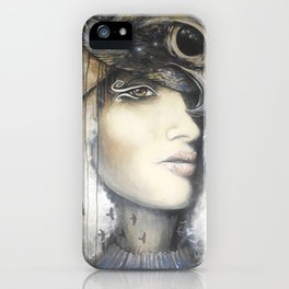 Waiting in the Wings iPhone Case