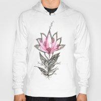 lotus flower Hoodies featuring Lotus by Himadri Pachori