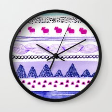 Pattern / Nr. 6 Wall Clock