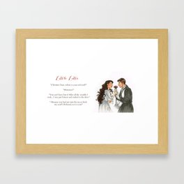 Raoul and Christine Framed Art Print