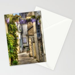 French Village Pouilly-sur-Loire in Spring, France Stationery Cards