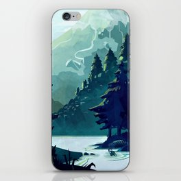 Canadian Mountain iPhone Skin