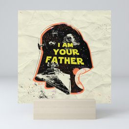 """""""I Am Your Father (Empire) - Darth Vader"""" by Showdeer Mini Art Print"""
