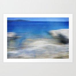 Sea Impressions Art Print