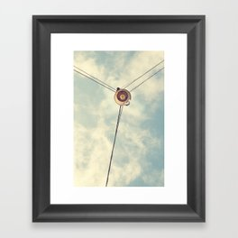 Old Lamp Framed Art Print