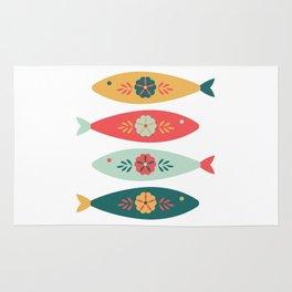Tribal Fish Rug