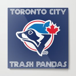 Trash Pandas Metal Print