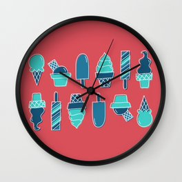 Ice cream 3 Wall Clock