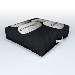 Zen Stones Outdoor Floor Cushion