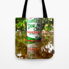 Mountain Dew reflected Tote Bag