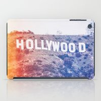 hollywood iPad Cases featuring Hollywood by Laura Ruth