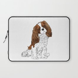 Cavalier King Charles Spaniel Blenheim Laptop Sleeve