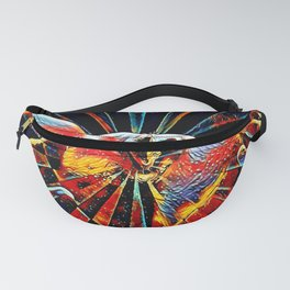 5809s-KMA_6109 Celebrate the Feminine Creation Power L'Origine du Monde Explicit Abstract Sex Art Fanny Pack