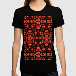 Fiesta Folk Red #society6 #folk T-shirt