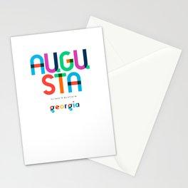Augusta Georgia Mid Century, Pop Art, Mondrian Stationery Cards