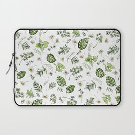 Scattered Garden Herbs Laptop Sleeve