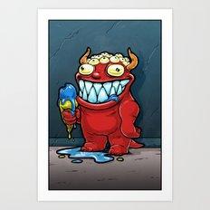 Monster No. 1 Art Print