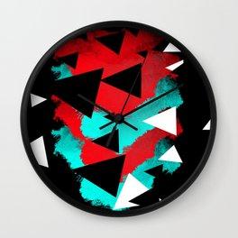 triangoli Wall Clock