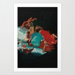 Kidcloud II Art Print