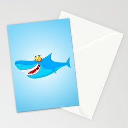 Great White(ish) Stationery Cards