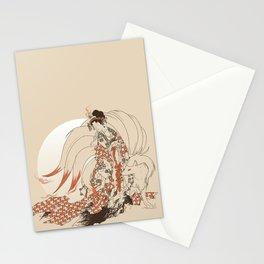 Ninetales Daji Stationery Cards