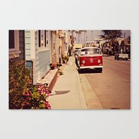 vw bus Canvas Prints featuring VW BUS by INEVITABLE 27