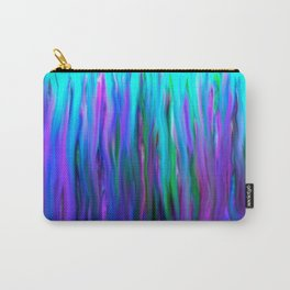 Purple and Blue Water Abstract Oil Painting Carry-All Pouch
