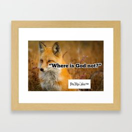 Inspirational Quotes from Pa'Ris'Ha Framed Art Print