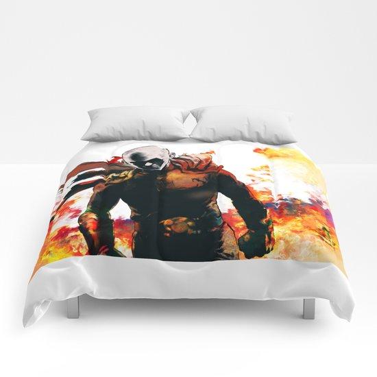 Onepunch Man Comforters