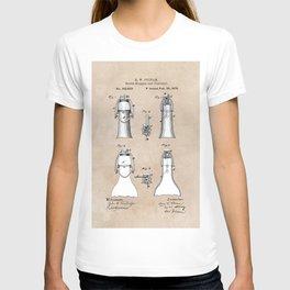 patent Putnam Bottle Stopper and Fastener T-shirt