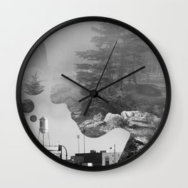 Imminent Adjacency Wall Clock