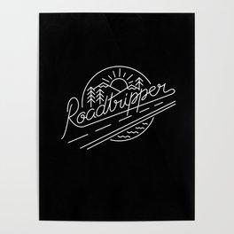 Roadtripper - white Poster