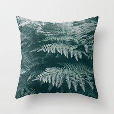 Ferns IV Throw Pillow