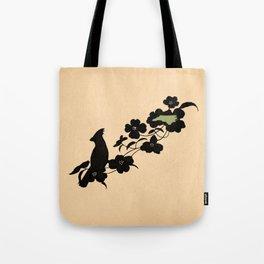 North Carolina - State Papercut Print Tote Bag