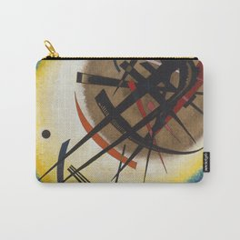 Wassily Kandinsky - In The Bright Oval Carry-All Pouch