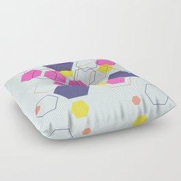 Hexagon Wonderland Floor Pillow