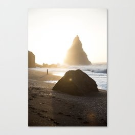 Beach-goer Canvas Print