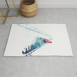 From nowhere to nowhere Rug