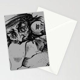 Gobbi in Grey Stationery Cards